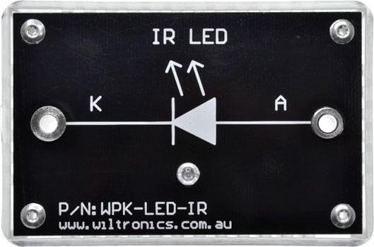 IR LED. P/N: WPK-LED-IR. www.wiltronics.com.au