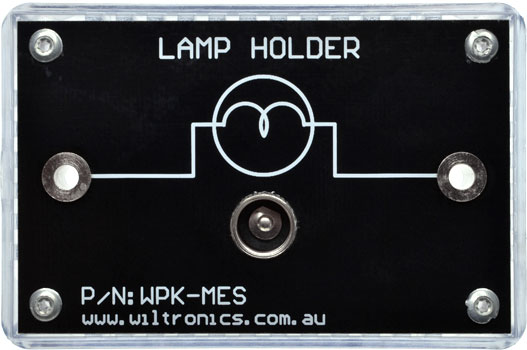 Lamp Holder. P/N: WPK-MES. www.wiltronics.com.au