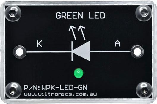 WPK-LED-GN WPK Circuit Brick Green LED