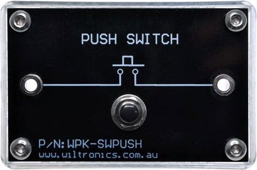 Push Switch. P/N: WPK-SWPUSH. www.wiltronics.com.au