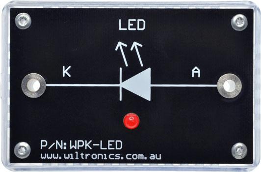 WPK-LED-RD WPK Circuit Brick Red LED