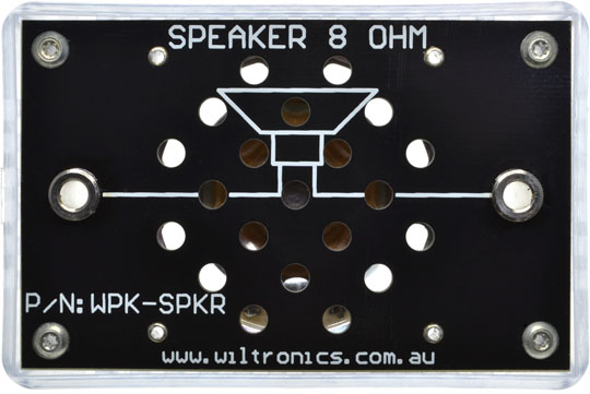 Speaker 8 Ohm. P/N: WPK-SPKR. www.wiltronics.com.au