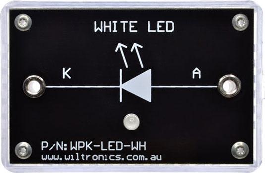 WPK-LED-WH WPK Circuit Brick White LED