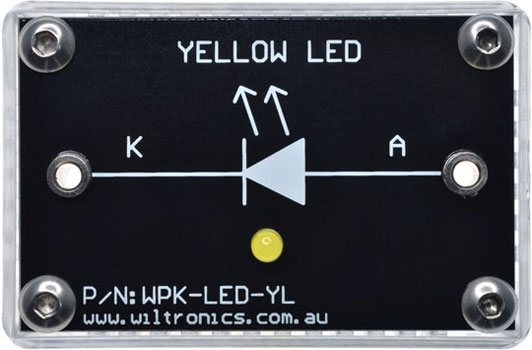WPK-LED-YL WPK Circuit Brick Yellow LED
