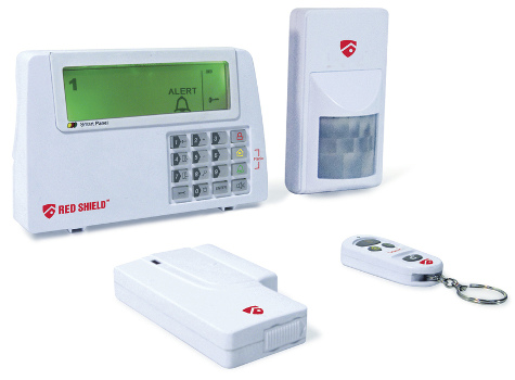 8 Channel Red Shield Wireless Alarm Kit