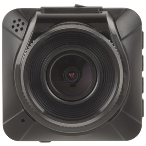 Front photo of a 1080p 2 inch car dash camera.