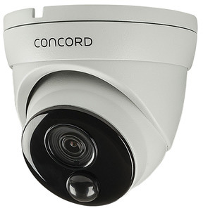 Photo of a Concord AHD 5 megapixel PIR dome camera.