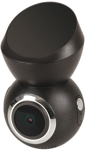 Photo of a 1080p wi-fi dash camera with GPS.