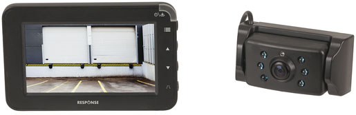 Photo of a 2.5GHz digital wireless 4.3 inch reversing camera.