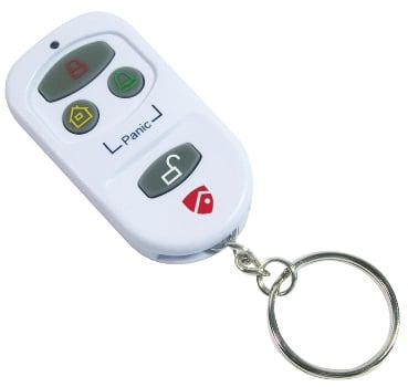Red Shield Key Fob Remote Control