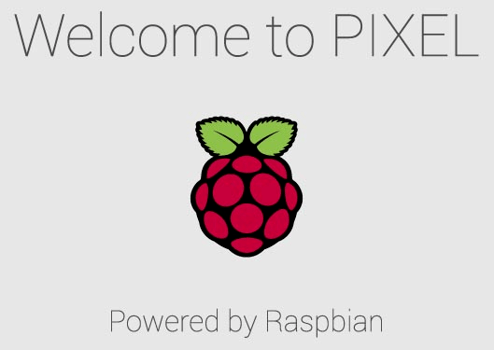Welcome to PIXEL - Powered by Raspbian