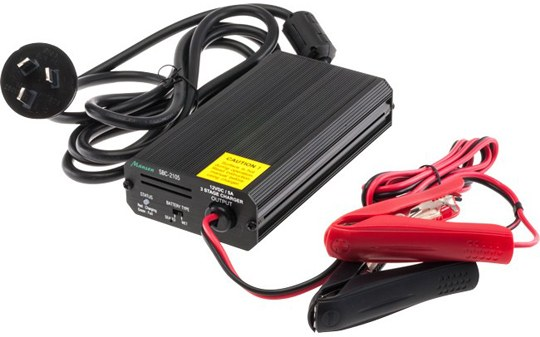 12V 5A SLA Battery Charger - Suits 20AH and above Batteries