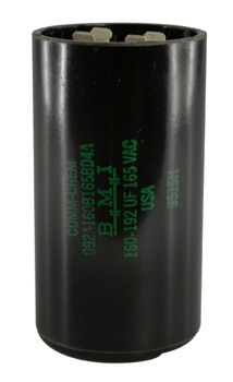 160-192UF 165VAC MOTOR START CAPACITOR