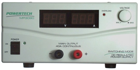 3-15VDC 40AMP LABORATORY POWER SUPPLY
