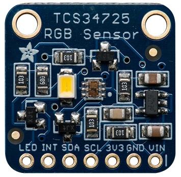 Color Sensor with IR Filter by Adafruit