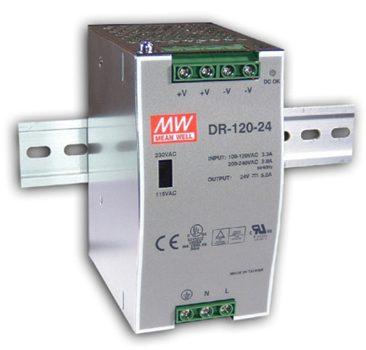 DIN RAIL SMPS 12VDC 120WATT (10AMP)