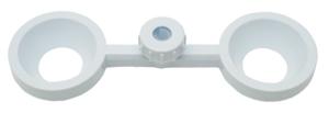 Double Filter Funnel Holder Polypropylene