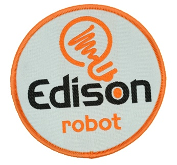Edison Robot Achievement Patch