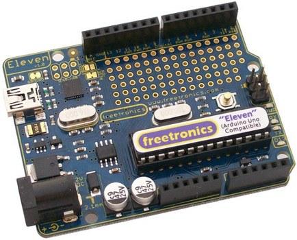 Freetronics Prototyping Shield for Arduino Mega from