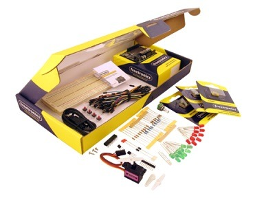 Experimenters Kit for Arduino By Freetronics