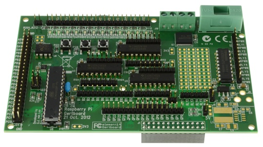 Gertboard I/O Board suit Raspberry Pi GPIO B+