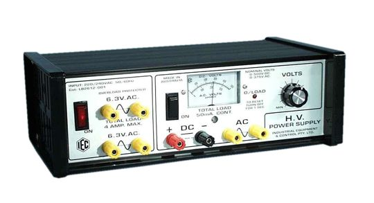 IEC HIGH VOLTAGE LABORATORY POWER SUPPLY