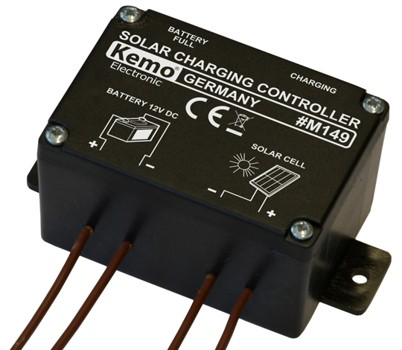 6a Kemo M149 Solar Charger Controller 12v Wiltronics
