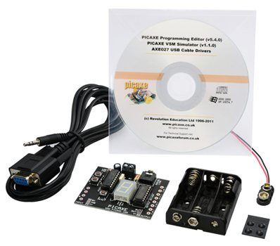 PICAXE-18M2 TUTORIAL KIT WITH SERIAL CABLE