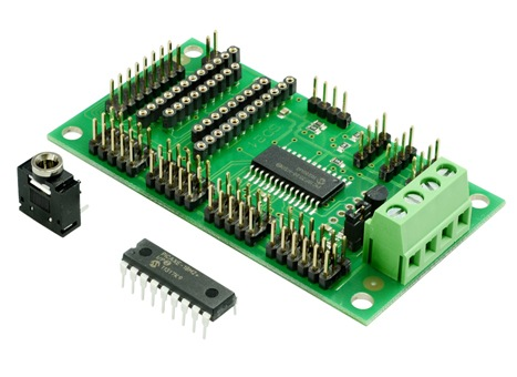 PICAXE-18X 21 CHANNEL SERVO CONTROLLER