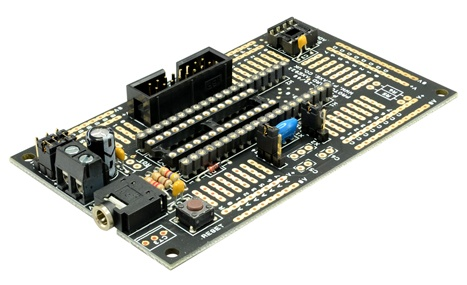 PICAXE 28/40 PIN PROJECT BOARD