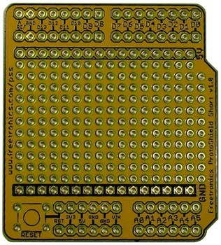 ProtoShield Short for Arduino By Freetronics