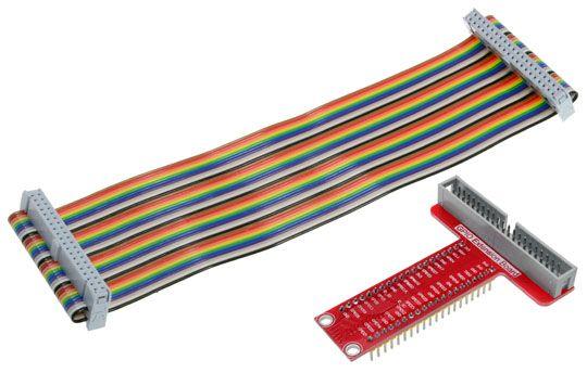 Raspberry Pi 2/3/B+ T-Cobbler GPIO Expansion Kit