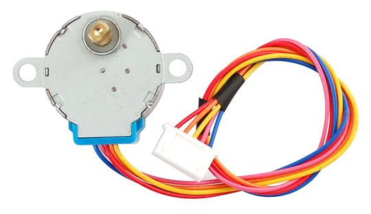 Reduction Geared Stepper Motor 12 VDC 48-step 1:16