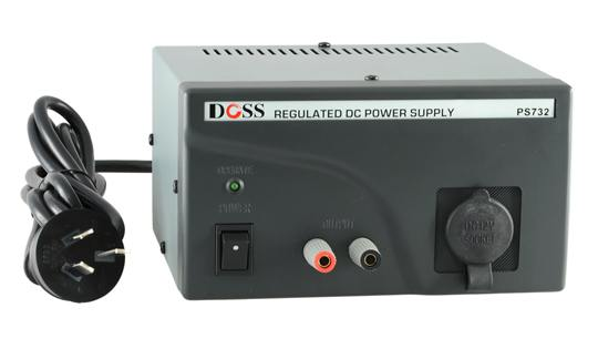 REGULATED POWER SUPPLY 13.8VDC 2AMP