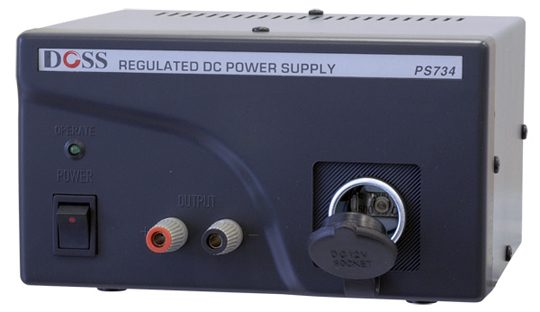 REGULATED POWER SUPPLY 13.8VDC 4AMP