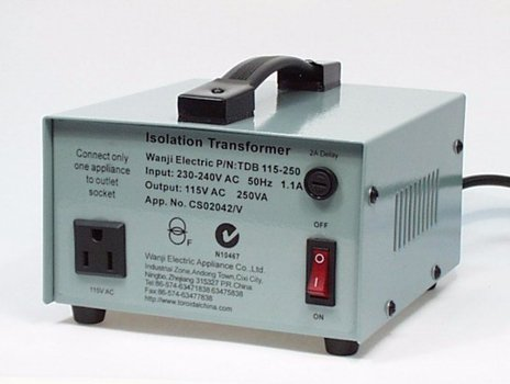 STEPDOWN TRANSFORMER 250WATT(2.17AMP)