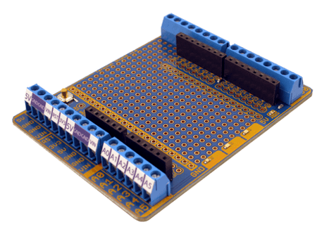 Terminal Shield for Arduino by Freetronics