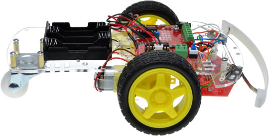 Pixace Line Tracker Bump Buggy Kit Side