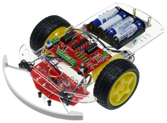 Pixace Line Tracker Bump Buggy Kit