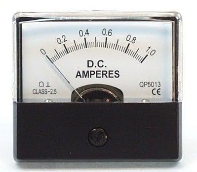0-1A DC MU45 AMP METER