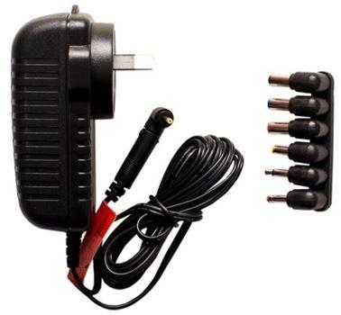 12VDC 2.5AMP PLUGPACK WITH 7 ADAPTORS
