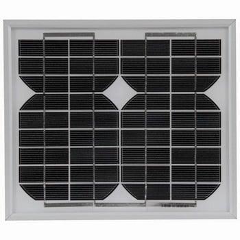 12VOLT 5WATT MONOCRYSTALLINE SOLAR PANEL 295x255mm