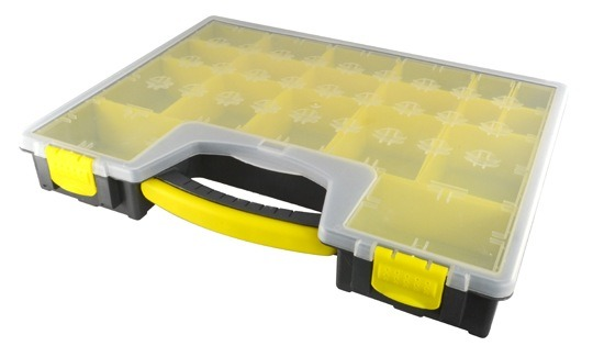 19 COMPARTMENT PARTS BOX