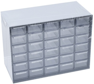 30 DRAWER PARTS CABINET