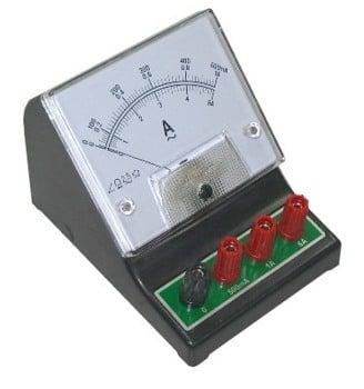 AC AMP METER 0-500mA-1A-5A