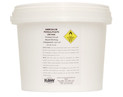 Etching Compound Ammonium Persulphate | Wiltronics