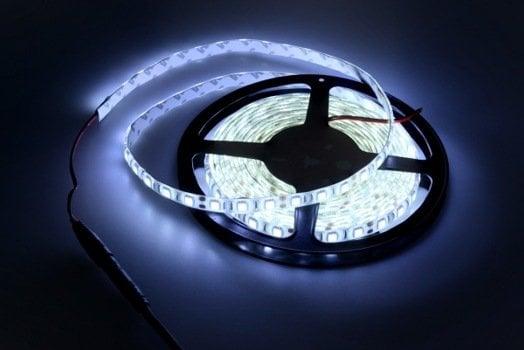 BRIGHT WHITE 5050 12VDC LEDFLEX STRIP IP65 PER MTR