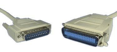 CENTRONICS - DB25M PRINTER CABLE 2MTR