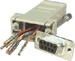 DB9 FEMALE TO RJ45 ADAPTOR