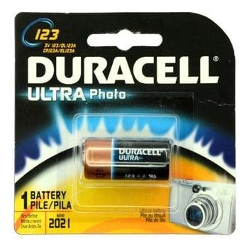 DL123AB Duracell 3V Lithium